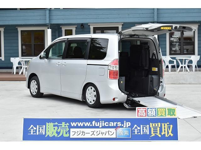 トヨタ スロープ 車椅子1基 電動ウインチ 固定装置 ニールダウン