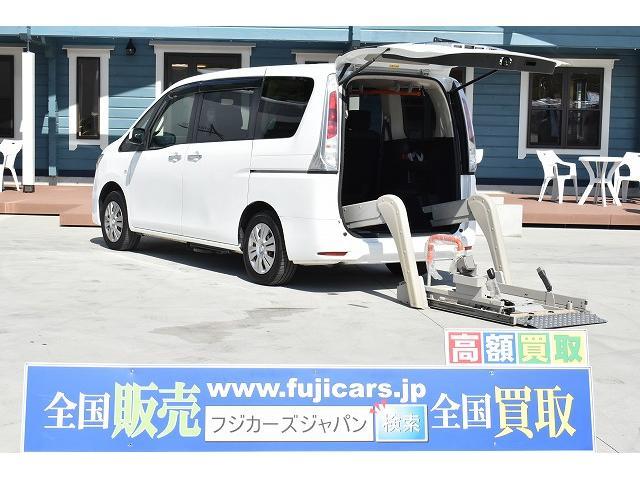 日産 福祉車両 リアリフト 車椅子1基 オートステップ Bカメラ