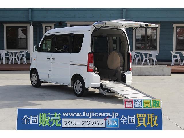 スズキ スロープ 車椅子1基 電動ウインチ 電動固定装置 ナビ