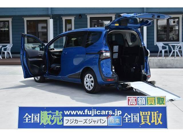トヨタ 福祉車両 ワンオーナー スロープ 車椅子1基 後退防止 ナビ