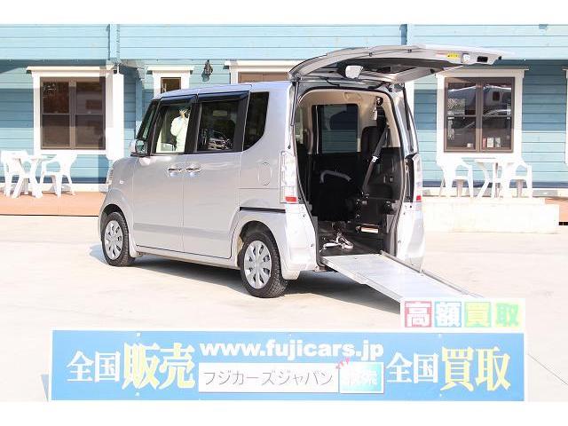 ホンダ 福祉車両 スロープ 車椅子1基 電動ウインチ 固定装置 ナビ