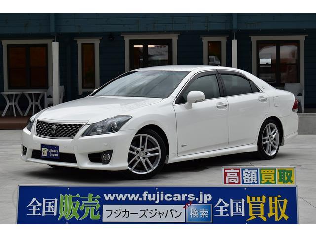 トヨタ 3.5アスリート +M スーパーチャージャー 純正HDDナビ