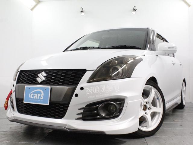 スズキ ベースグレード 全国対応1年保証付き 6MT ADVAN Racing17インチAWタイヤヨコハマ2021年製装着 車高調 クルーズコントロール HIDヘッドライト オートライト 車検令和5年4月迄