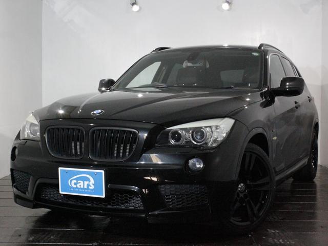 BMW X1 sDrive 18i Mスポーツパッケージ ワンオーナー 禁煙車 ナビフルセグ ARQRAY4本出しマフラー 純正18インチアルミブラック塗装 スマートキー スペアキー有 ETC