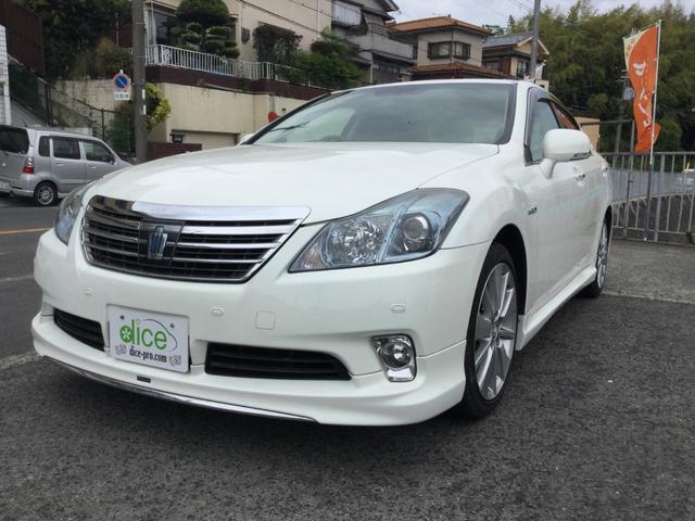 トヨタ Gパッケージ モデリスタエアロ HVシステム交換済