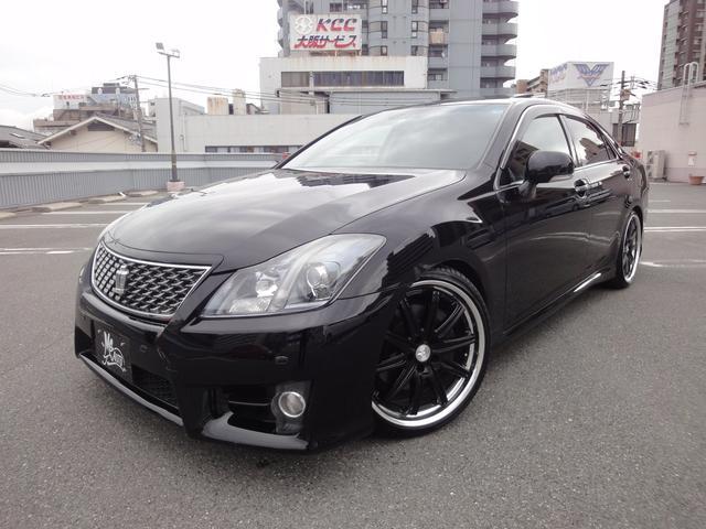 トヨタ 3.5アスリート・本革シート・サンルーフ・新品20icAW