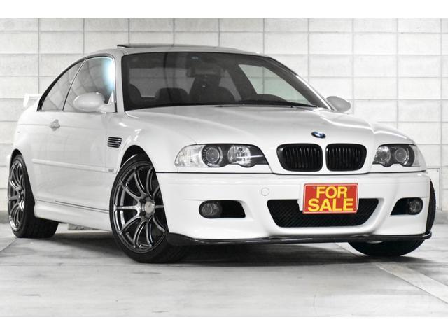 BMW M3 SMGII 後期 左ハンドル 本革 サンルーフ 64ビットCPU アルピンホワイト ADVANレーシング19アルミ SCHNITZERリアスポイラー カーボンリップエアロ