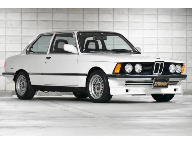 BMW 3シリーズ 318i 5速MT 初代3シリーズ E21 M10エンジン4気筒 アルピナエアロ エアコンOK ETC 新品純正スペアパーツ付 記録簿33枚最終R2年