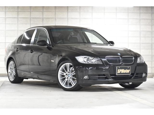 BMW 3シリーズ 330i ハイラインパッケージ 黒本革シート Mスター18インチアルミ Mスポーツステアリング パドルシフト メーカーナビ ミラーETC