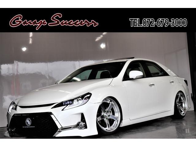トヨタ G's新品WORK19AW新テイン車高調サンルーフ