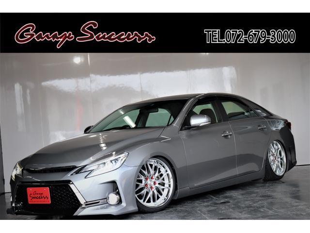 トヨタ マークX 250G G's仕様/新品WORKシュバート19AW/新品タイヤ/新品フルタップ式TEIN車高調/新品社外テール/LEDフォグランプ