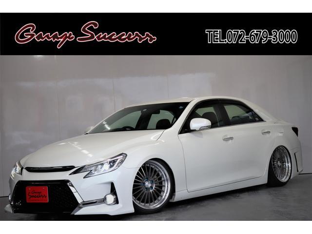 トヨタ マークX 250G G's仕様/新品WORKランベック19AW/新品タイヤ/新品フルタップ式TEIN車高調/新品社外テール/ETC/Bluetooth