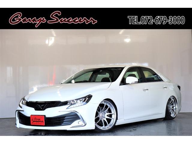 トヨタ 250G 新品WROKエモーション19AW/新品タイヤ/新品フルタップ式TEIN車高調/新品カラーアイヘッドライト/ETC/クルコン/バックカメラ/Bluetooth