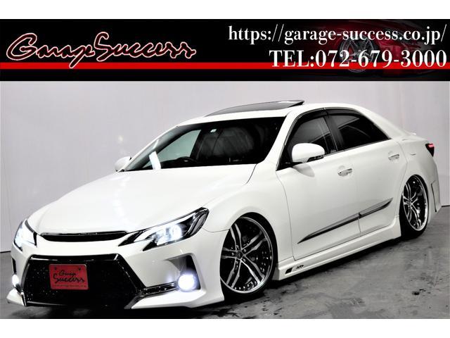 トヨタ 250G Sパッケージ サンルーフ/G's仕様/新品AMEシャレン19AW/新品BRASH車高調/社外アクリルヘッドライト/イカリング加工/OP付きスモークテールランプ/パドルシフト/Bluetooth/地デジ/ETC
