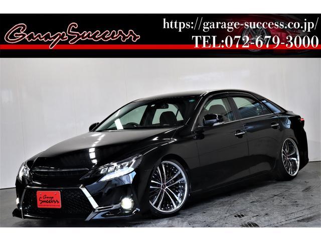 トヨタ 250G リラックスセレクション G's仕様/新品シャレンXR-75 19AW/新品TEIN車高調/OP付きBRASHヘッドライト/OP付きスモークテール/新品シートカバー/バックカメラ/ETC/Bluetooth/地デジ