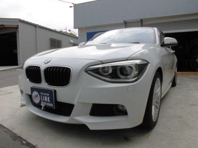 BMW 1シリーズ 116i Mスポーツ ターボ iDrive ナビ バックカメラ Bluetooth対応 DVDビデオ ETC アイドリングストップ クリアランスソナー キセノンライト 禁煙車