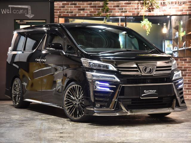 トヨタ 3.5エグゼクティブラウンジZ モデリスタフルエアロ ローダウン WALD21アルミ サンルーフ JBL パノラミックビューモニター デジタルインナーミラー レザーシート V6