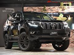 ランドクルーザープラドTX 7人乗り リフトアップ BFグッドリッジ オールテレーン レイズチームディトナ F6Gain 20インチ シートカバー ルーフレール LEDヘッドライト 4WD クリアランスソナー セーフティセンス
