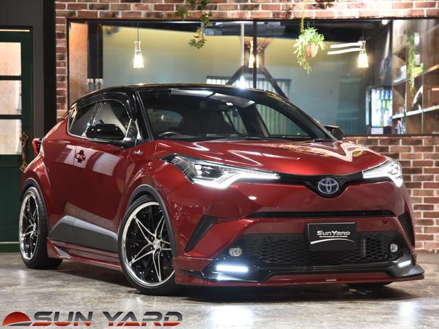 トヨタ C-HR G TRDコンプリート ブリッツ車高調新品 WORK シュバート SG1新品 20インチ ツートンカラー シーケンシャルウィンカー 4本出しマフラー フルセグナビ セーフティセンス