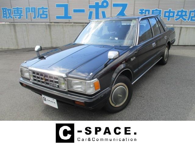 トヨタ ロイヤルサルーン 走行4.7万キロ R134aエアコン 旧車