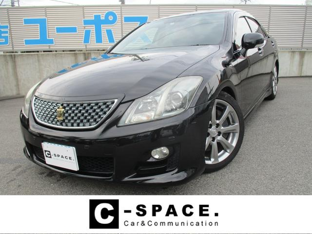 3.5アスリート サンルーフ 革シート 車高調 メーカーナビTV ETC