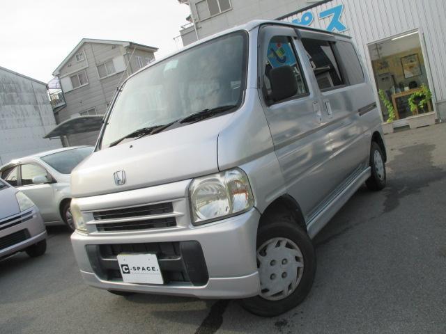 ホンダ バモス M CDデッキ Tベル交換 両側スライド (車検...