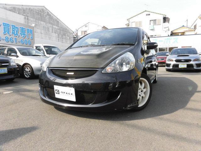 ホンダ 1.5W 5速 ナビテレビ 社外マフラー 色替え車