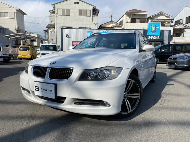 BMW 320iツーリング ナビ 地デジ ドラレコ ブラックレザーシート シートヒータ