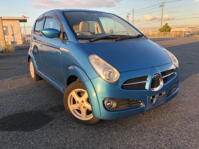 スバル R ETC  キーレス 外装青色