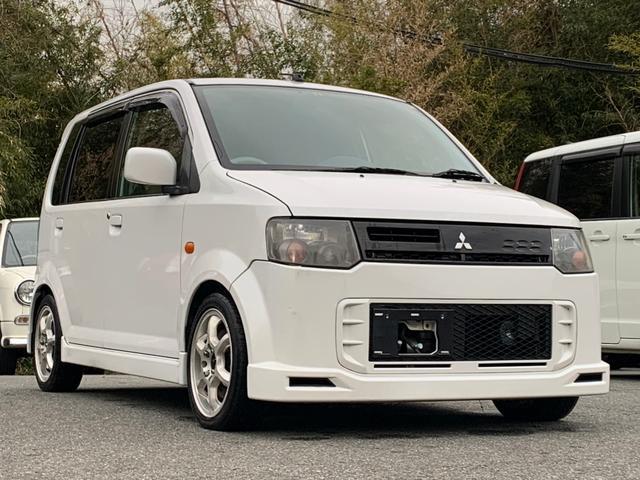 三菱 eKスポーツ R ターボ 4WD タイミングベルト交換済 社外アルミ
