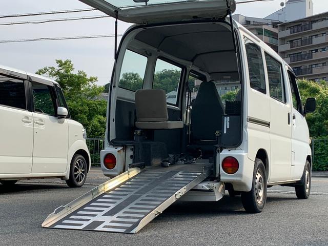 福祉車両 スローパー 4WD タイミングベルト交換済