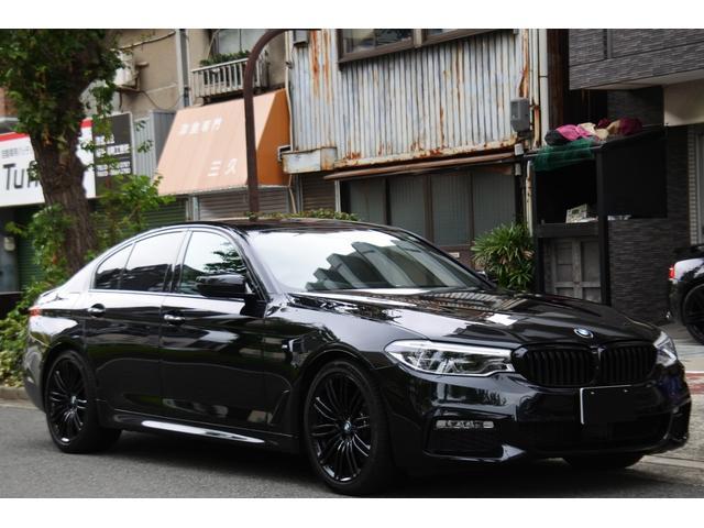 BMW 5シリーズ 523d エディション ミッション:インポッシブル 特別仕様車(MISSION:IMPOSSIBLE) ハーマンカードンサウンドシステム 360℃カメラ ヘッドアップディスプレイ 純正19インチMライトアロイホイール Mパフォーマンスキドニーグリル