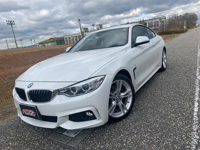 BMW 420iクーペ Mスポーツ コンフォートアクセス/アクティブクルーズコントロール/プッシュスタート/インテリジェントセーフティミラーETC/パワーシート/純正HDDナビ/フルセグTV/バックモニター/HID/パドルシフト/