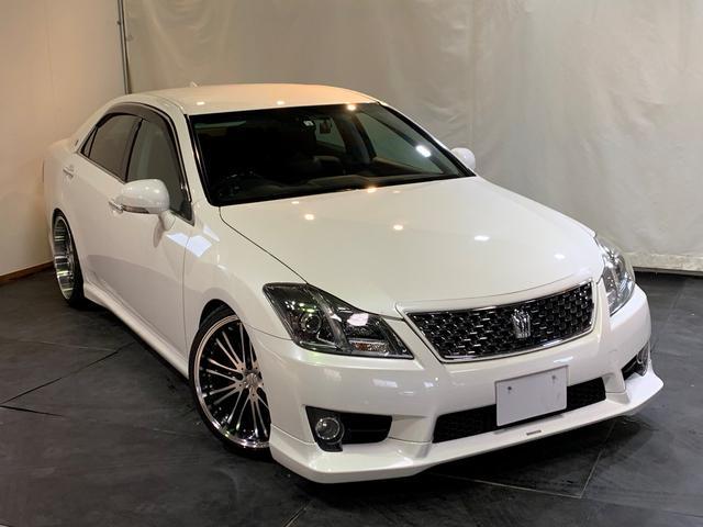 トヨタ アスリート ナビPKG 新車高調 新20AW TRD LED