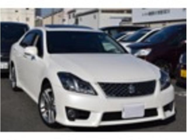 トヨタ アスリートGパッケージ 黒革 SR HDDナビ 新品タイヤ