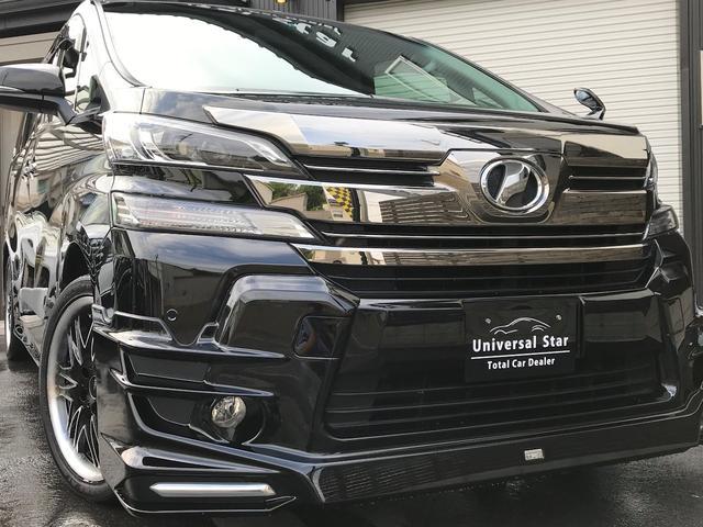 トヨタ 2.5ZサンルーフTRDエアロ9型ナビ後席TV新品シートカバ