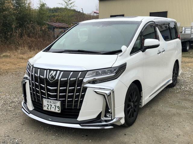 トヨタ アルファード 2.5S Cパッケージ モデリスタ TVナビ 後席モニター