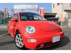 VW ニュービートルサルサ 全国限定475台 赤・黒コンビレザー 新品ナビ付