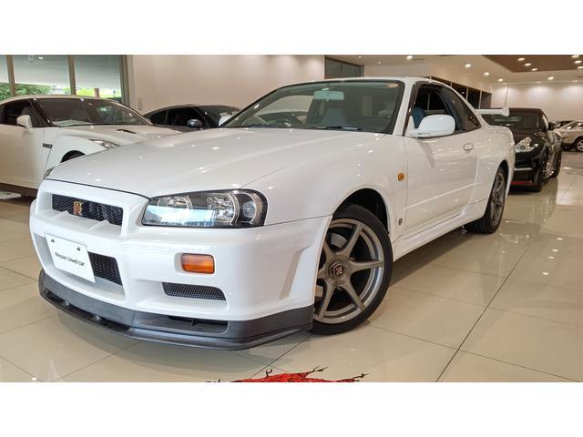 日産 スカイライン GT-R Vスペック 純正アルミマルチファンクションディスプレイ6MTHID4WDサイドエアバックETC