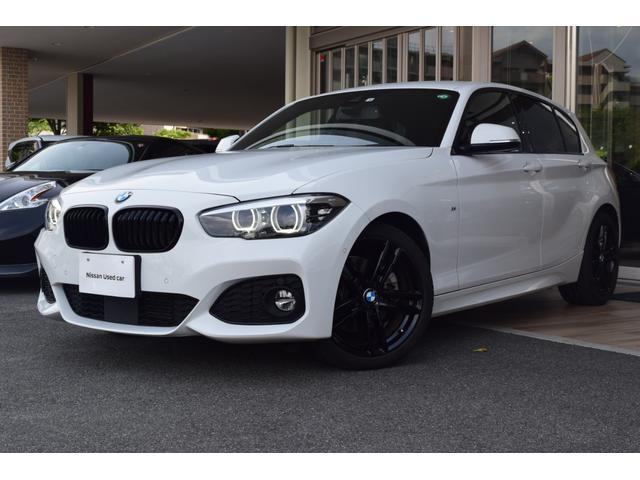 BMW 118d Mスポーツ エディションシャドー 純正ナビ LEDライト アクティブクルーズ 18インチ専用ホイール 黒レザ- HiFiスピーカー ETC