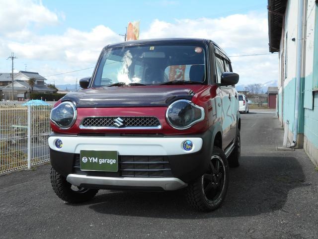 スズキ G 4WD MT リフトアップ マッドタイヤ マフラー
