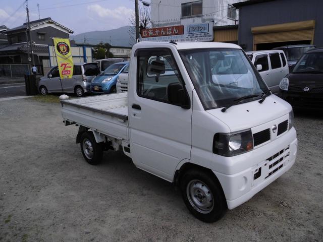 日産 クリッパートラック SD 4WD・エアコン・パワステ・三方開