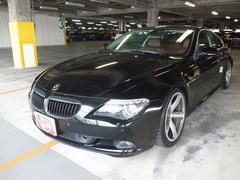 BMW650i レザーシート サンルーフ 車高調