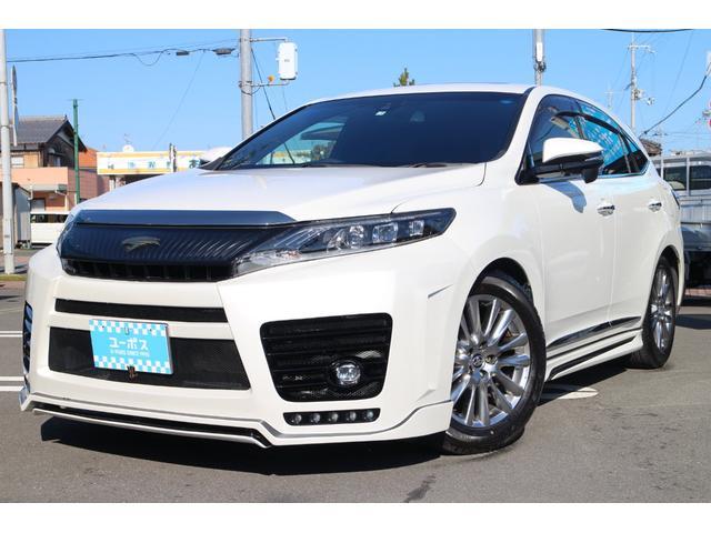 トヨタ プレミアム ALPINE9インチナビ 黒革シート サンルーフ