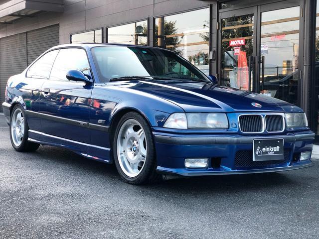 BMW M3クーペ ブラックレザーシート・ビルシュタインダンパー・スーパースプリントマフラー・K&Nカーボンラムエアクリーナー・OSスーパーロックLSD・シュニッツァーカーボンタワーバー