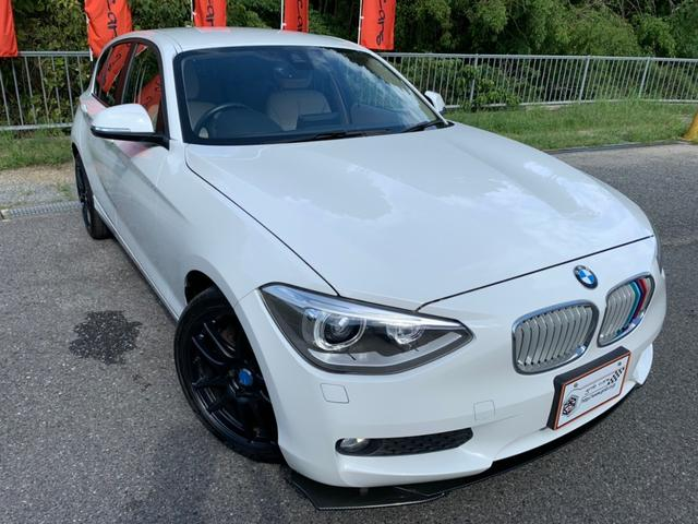 BMW 116i ファッショニスタ 限定車 レザーシート 純正ナビ