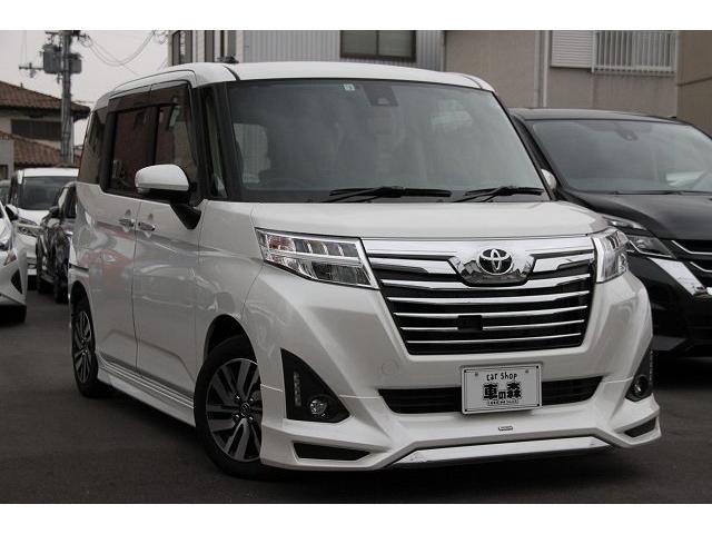 トヨタ カスタムGS モデリスタエアロ 純正ワイドナビ SAII