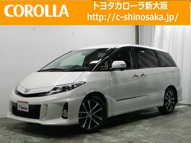 トヨタ アエラス プレミアムエディション 純正HDDナビ