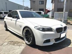 BMW528i Mスポーツ 左H サンルーフ 革シート