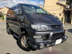 デリカスペースギアシャモニー 4WD 8人乗り 車検32年10月